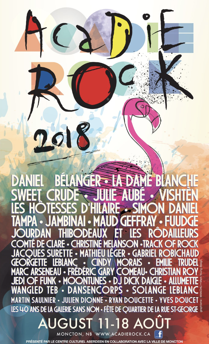The Festival Acadie Rock unveils it's 7th edition program!