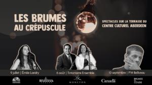 Les Brumes au crépuscule: trois rendez-vous musicaux pour l'été 2019