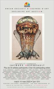REPORTÉ – Plus de 30 artistes participent à la 9e édition de l'encan du Centre culturel Aberdeen